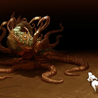 ``The dog and the monster´´ - leoteart.blogspot.com