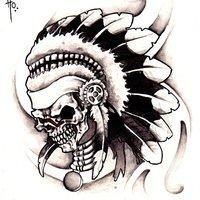 craneo tatoo