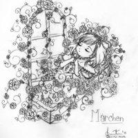 Sleeping beauty (sketch)