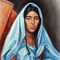 Joven mujer tuareg