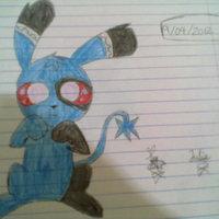 el perro azul...version cute?