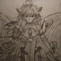 Kos-Mos V4 con Alas (Fan-art)