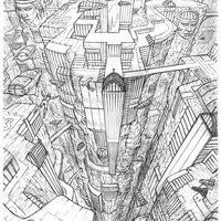 boceto para portada cómic Paraiso 3