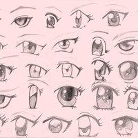 ojos de anime