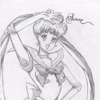 Serena Sailor moon fan art