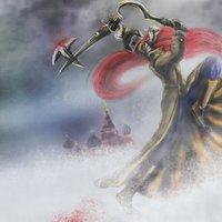 Katarina (League of legends) revolucionaria.