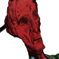 alien rojo! practica