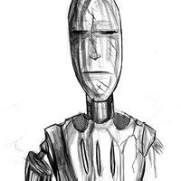 Robot abandonado
