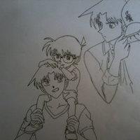 Conan y Heiji (Detective Conan)