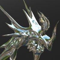 dragon 3d sculptris