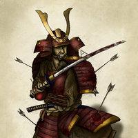 Samurai en guardia