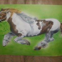 caballo para mi vieja en proceso