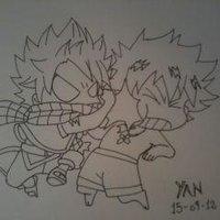 Natsu VS Gray.