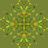 Cruz floral 2