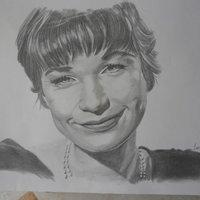 Retrato Shirley Mclane