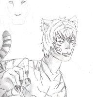 Híbrido - Tigre/Humano