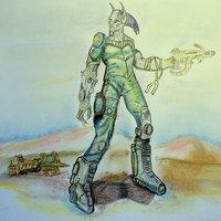 guerrero del desierto