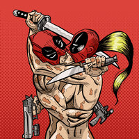 Deadpool & Lady Deadpool