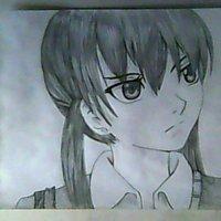 Tonari no kaibutsu kun draw  Mizutani Shizuku by wolff.19