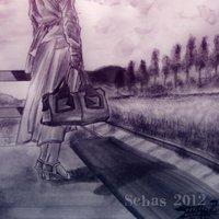 la señora del tren