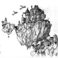 Castillo de los pájaros a vapor