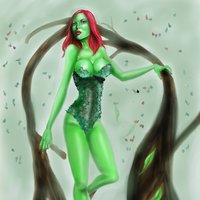 poison ivy.en la bruma.