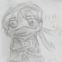 hank chibi boceto