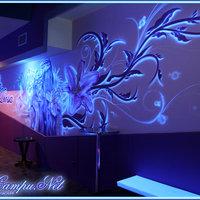 mural para pub La diosa