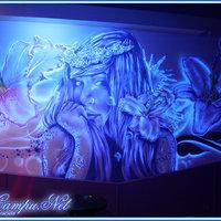 mural pub la Diosa en Villarejo