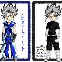 comparativa de los trajes de Zero