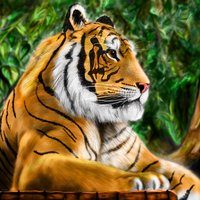 Speed painting Tigre