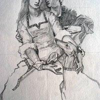 Práctica de dibujo Hughes Merle