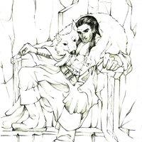 Oberón en su trono