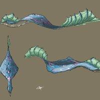 Conceptos para posible criatura.