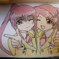 Suminoe Riko y Suminoe Ako (KissXsis)