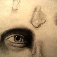 Estudio de elementos del rostro.