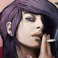 Bad girl / Chica mala by Venc design
