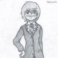 Chica colegiala   (joseito9520 (KuroNeko))