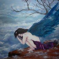 cuando los angeles lloran... llovera