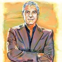 Retrato George Clooney
