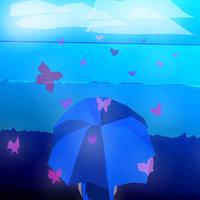 Lluvia de mariposas