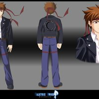 Valkyrie Sword: Kenji concept 2