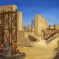Castillo en construcción