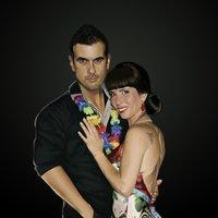 Ilustración / Retrato digital Rosana y Carlos + proceso