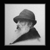 Retrato del pintor Claude Monet