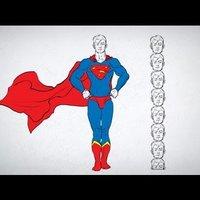 20 - La unidad básica para dibujar un Superman y un patito de goma - DibujarBien