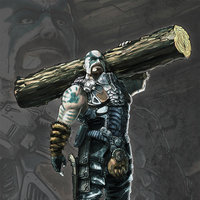 Mass, el Berserker de Scourge Outbreak the videogame.