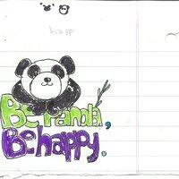 Being a panda.