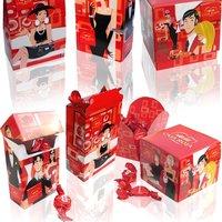 NESTLÉ | Diseño de las cajas rojas en todos sus formatos.