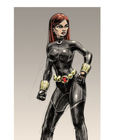 Studies - Black Widow